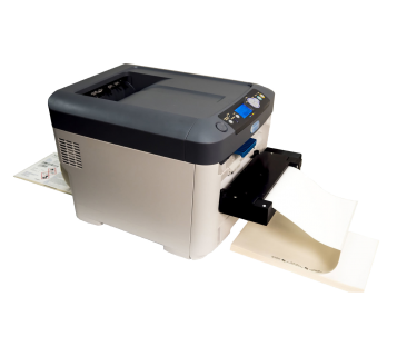 continuous digital solution for toner-based label production